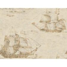 York Wallcoverings Ghost Clipper Ships Nautical Wallpaper GX8168