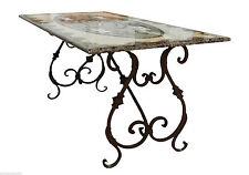 Table avec Intarsi en marbre Meubles Style Classique Antiquités Marqueteries De