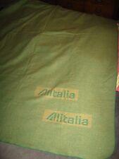 Alitalia Airlines Blanket - Vintage Italian Lanerossi Air Lines Airplane Italy