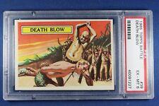1965 Topps Battle Cards - #39 Death Blow - Graded PSA 6 Ex-Mt