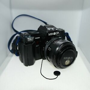 Minolta 7000 Camera With Zoom Lens Spare And Repairs