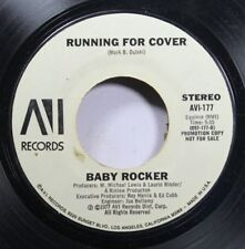 Rock Promo Nm! 45 Baby Rocker - Running For Cover / Young And Mean On Avi Record