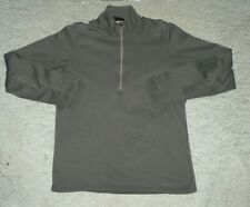 Patagonia mens Fleece 1/2 Zip Pullover Top Base Layer Shirt Gray sz M Free Ship