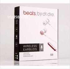 Earphone Beats Wireless Bluetooth 4.0 Headset Earbud iPhone Samsung HTC LG Black