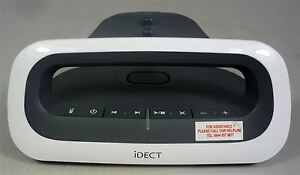 iDECT Loop Call Blocker Grey & White Spare Replacement Main Base Part
