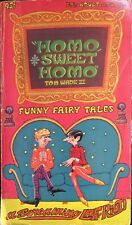 HOMO SWEET HOMO Tom Wade's Vintage Gay Erotica LGBTQ Cult Classic Fairy Tales