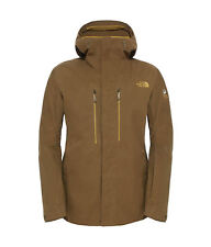 The North Face Mens NFZ Steep Series GoreTex Ski Board Jacket Brown Fields M