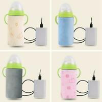 USB Baby Bottle Warmer Portable Infant Milk Heater Feeding Bag Cover Insulation