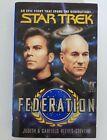 Star Trek Federation Book  pre-owned