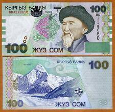 Kyrgyzstan, 100 Som, 2002, P-21, UNC