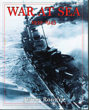 WAR AT SEA: 1939 TO 1945 -- ILLUSTRATED HISTORY --  USED  VERY GOOD