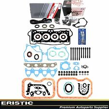 Full Gasket Head Bolts Timing Belt Water Pump KIT 93-97 1.8L TOYOTA COROLLA 7AFE