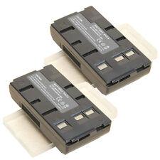 2 x Battery PACK For JVC BN V11U BN V12U BN V10U BN V20U US