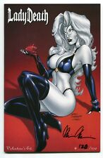 Lady Death Tribulation #1 Valentines Variant Cover by Mike Debalfo Signed Pulido