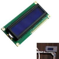 NEW DC 5V HD44780 1602 LCD Display Module 16x2 Character LCM Blue Backlight T4T1