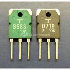 2SB6882SD718 , 2SB 688-2SD 718 , B688-D718 Kit Transistor