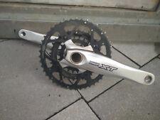Shimano Deore XT Kurbel Mountain Bike 3 Fach Hollowtech II