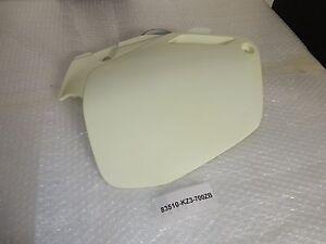 Seitendeckel rechts Sidecover right Honda CR125 CR250 BJ.91-92 Neu Lagerspuren
