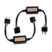 2X Auto H4 9003 Headlight Kit Canbus LED Decoder DRL Anti-Flicker Load Resistor