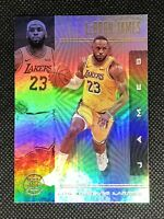 2019-20 Panini Illusions LeBRON JAMES Base Card Lakers