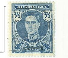 1942 3½d Blue, King George VI Definitives - SG207: 217 Stamps Remain AVAILABLE