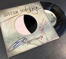 "Enter Shikari - Juggernauts 7"" Remix Vinyl Signed Autographed"