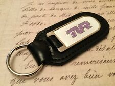 TVR Real Leather Keyring  Printed resin coated CERBRA TUSCAN GRIFFITH  CHIMAERA