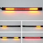 48 SMD LED Motorcycle Motorbike Tail Brake Stop Turn Signal Flashing Strip Light