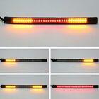 48 LED Universal flexible Motorcycle Light Strip Tail Brake stop/turn sign Light