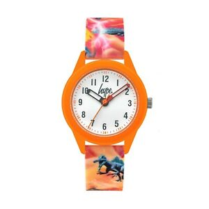 Hype Kids Orange Dinosaur Watch HYK011O