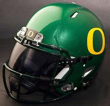 OREGON DUCKS NCAA Authentic GAMEDAY Football Helmet w/ OAKLEY Eye Shield