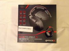 Ps4/x box headset/mic gioteck Ex-06 Foldable High Def Stereo Headphones Sealed