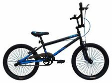 "Tiger UCX2 BMX Bicycle 20"" Wheel 10"" Frame Freestyle Black & Blue"