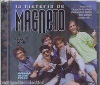 SEALED - La Historia De Magneto CD NEW Incluye CD+DVD 39 Exitos BRAND NEW
