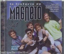 SEALED - La Historia De Magneto CD NEW Incluye CD+DVD 39 Exitos BRAND NEW