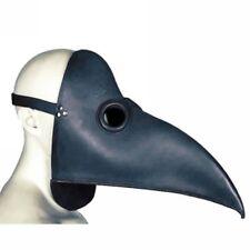 BLACK LONG NOSE BIRD MARDI GRAS MASQUERADE VENETIAN MASK yyy
