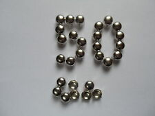 6mm color argento. CONO BORCHIE RIVETTI