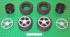 Lego Wheels Tires 5-Spoke Cover 8652 Ferrari