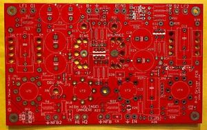 DIY PCB - Push-pull tube amp driver PCB