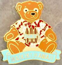 Hard Rock Cafe WAIKIKI HAWAII 2000 PROTOTYPE PIN Duke's TEDDY BEAR! SUPER RARE!