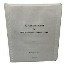 General Scanning Pc Mark Users Manual Marktm 400 Yag Laser Marking System