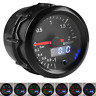 52mm Digital & Pointer 7 Colors LED 12V Car Turbo Boost Meter Bar Pressure Gauge