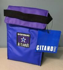 Vintage Retro 80's Gitano Purple & Blue Insulated Lunch Bag Box Cooler