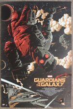Marvel: Guardians of the Galaxy variant print gold by Florey numbered