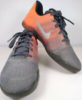Nike Zoom Kobe Boy's Youth XI (11) Elite Low Easter Grey/Mango Sneakers Sz 5.5Y
