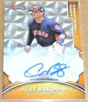 2016 Bowman's Best Bowman's Choice Alex Bregman Rookie Autograph RC AUTO 25/50!