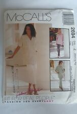 McCall's 2694  Top Pull On Pant  PLUS SIZE 8-22