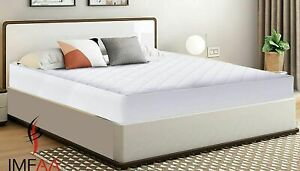 Quilted 30CM Extra Deep Anti Allergy Mattress protector, Fitted Mattress Cover