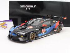 "Minichamps 155182924 # BMW M8 GTE #24 3rd. IMSA 2018 "" Edwards - Mostert "" 1:18"