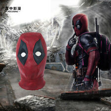 HZYM Deadpool 2 Wade Cosplay Helmet Halloween Full Face Suede Mask Hat Hood